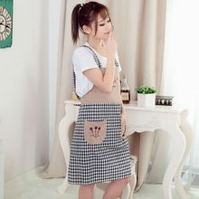 New hot fashion Happiness Tree Embroidery women lady Chefs Kitchen Cooking Apron Coverall Tablier Pinafore antifouling Oil proof