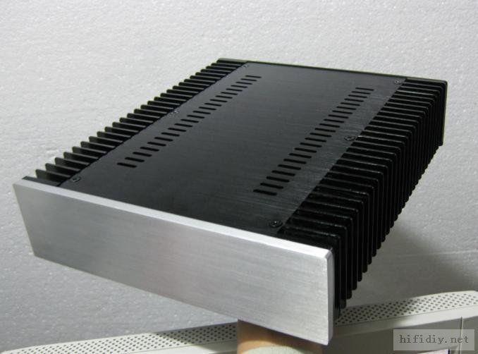 T2607 silver Full Aluminum power amp Enclosure/mini amplifier BOX/ PSU Case<br><br>Aliexpress