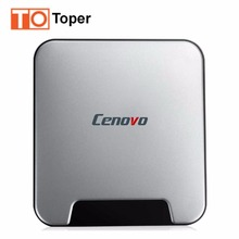 2017 New Cenovo MINI PCs Intel Z8350 Windows 10 OS TV BOX 4G/64G Quad Core HDMI Computer TV Stick Mini PC Bluetooth RJ45 4K HD