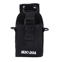 Genera BUXUN MSC-20A Walkie Talkie Holder Pouch Case for Yaesu Motorola CB Radio BAOFENG UV-5R UV-5RE Plus UV-B5 UV-82 UV-B5(China)