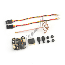 FPV PIKO Innova VTX 5.8G 25mw/200mw Adjustable Mini Audio Video Transmitter Integrated OSD RHCP for BLX Flight Controller 20mm(China)