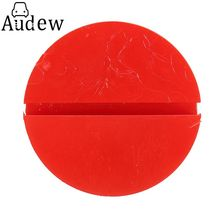 Universal Red Floor Jack Disk Pad Adapter For Pinch Weld Side Lifting Disk(China)