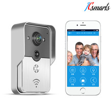 Knox Wireless/wired video intercom wifi peephole door camera wireless video phone support two-way intercom