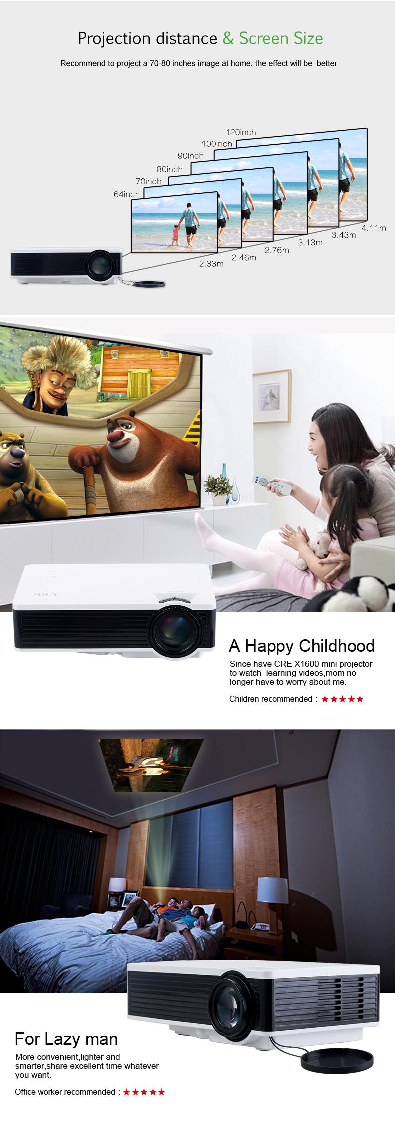 X1600 portable projector