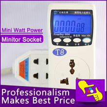 Mini WATT Electricity Power Energy Usage Meter Monitor for active energy/ voltage rms/ active value/ voltage frequency