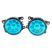 For Renault MEGANE 2/3/CC Fluence DUSTER Koleos SANDERO STEPWAY LOGAN Kangoo 1998-2015 Car Styling Led Fog Lights blue lamps(China)