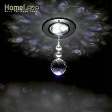 Mini Modern Chrome Plating Crystal Entrance Lights LED Crystal Spotlights Crystal Ball Flush Mount Living Room Bedroom Kitchen