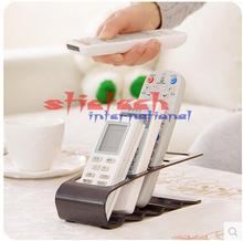 by dhl or ems 200pcs Practical Wrinkled 4 Section Home Appliance Remote Control Stand Holder
