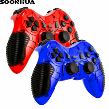 RF 2.4G  Wireless Gamepad Portable Game Controller Joystick Handle  Remote Game Pad For PS1,PS2,PS3,PC ,Android TV BOX