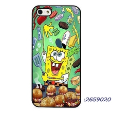 Spongebob Square Pants Funny mobile phone cover case for iPhone 5 6S Plus 7 7Plus Samsung Galaxy S4 S5 S6 S7 edge Note3 4 5