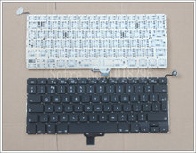 New  UK Laptop Keyboard 2009-2012 For Apple Macbook Pro A1278 MC700 MC724 MD313 MD314 UK  Keyboard Replacement