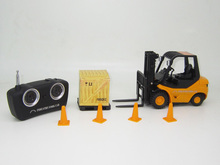 RC Forklift Radio Remote Control Controlled Truck Car Lifting Arm RC Crane Toy