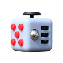 Magic Fidget Cube Vinyl Desk Toy 2017 New Fidget Cube Anti Irritability Toy Magic Cobe Funny Christmas Gift 11 Colors P1