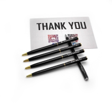 Cheap promotional pens corporate favors custom with your own logo text and company contacts best gifts for clients