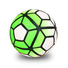 Hot sale 2016 High Quality Soccer Ball Football Anti-slip Granules Ball Size 5 football Colorful Balls Birthday Gifts(China)