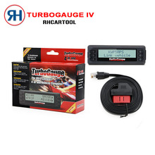 Free Shipping New Turbogauge IV 4-in-1 Vehicle Computer OBDII/EOBD car trip computer / Digital Gauges/ scan gauge/ car scan tool