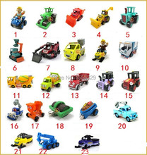 23pcs/lot--DIY car toys  Bob The Builder metal Construction Vehicles Models,car truck model for Best Choice Children Gifts