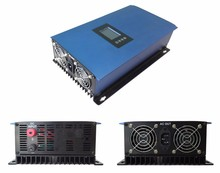 NEW 1000W Solar Power Grid Tie Inverter DC 22V-60V or 45V-90V to AC 100V  or 230V  LCD Display Second Generation Inverter