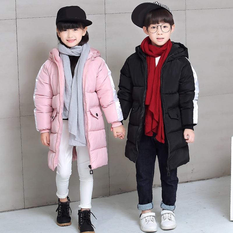 2017 New 110-170cm Children Jacket Winter Coat Girl Winter Jacket for Girls Children Kids Thick Snow Jacket Winter Girls Parkas <br>