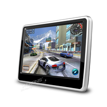 "10.1"" Portable PC Car Headrest DVD Monitor Player HD 1024*600 Ultra-thin Touch Screen Game Removable Audio USB SD CD IR FM Media"