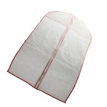 Large Capacity Cloth Hanging Suit Coat Clothes Garment Dust Cover Protector Wardrobe Hanger Storage Bag(China)
