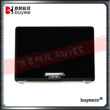 Original A1534 LCD Assembly 2015 2016 For MacBook Air 12'' A1534 Laptop Full LCD Screen Display Assembly Rose Cold Silver Gery(China)