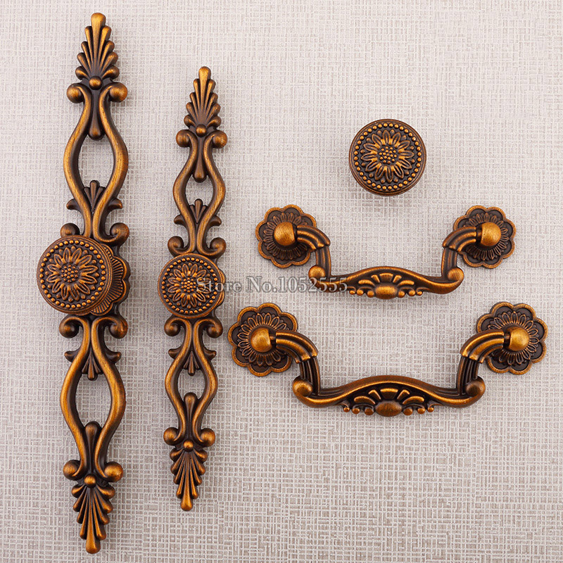 Hotsale 20PCS European Vintage Door Drawer Pull Ha...