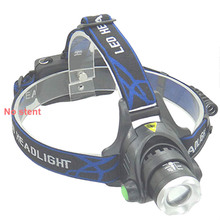LED Headlight CREE T6 headlamp zoom 18650 Head lights lamp 2000lm XML-T6 Rechargeable zoomable LED light