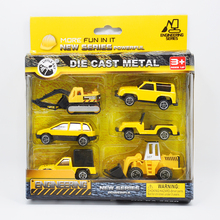 Hot Sale Fancy Mini Cars Set Safe Plastic Race Cars Truck and Machinery Cars Best Gift  Especially for Boys Kids Toys Car Models
