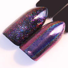 0.2g Nail Chameleon Holographic Flakes Powder Laser Gold Red Green Blue Nail Sequins Paillette Pigment Nail Art Decoration(China)