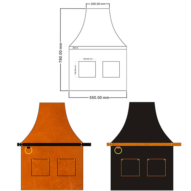 Leather Apron L5-3