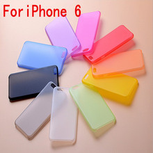 10 Candy Colors Phone Cases For Apple iPhone 4 4S 5 5S SE 5C 6 6S 6Plus 7 7Plus matte slim mobile Phone Case Back Cover