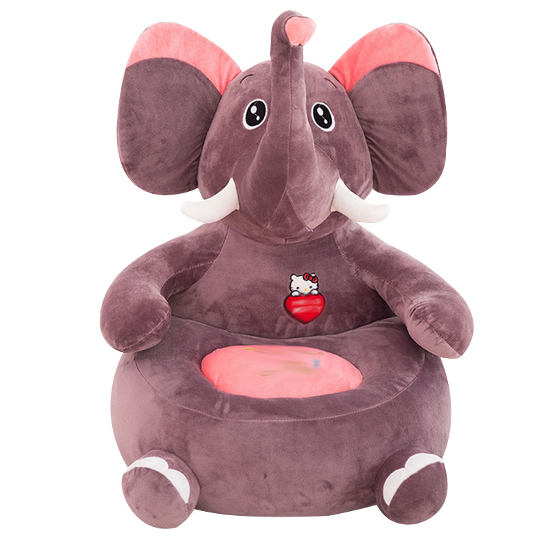 1-4Y Baby Plush Sofa Chair Children Cute Animal Cartoon Pattern Bean Bag Seat Comfortable Cushion Kids Fashion Sleeping Bed<br><br>Aliexpress