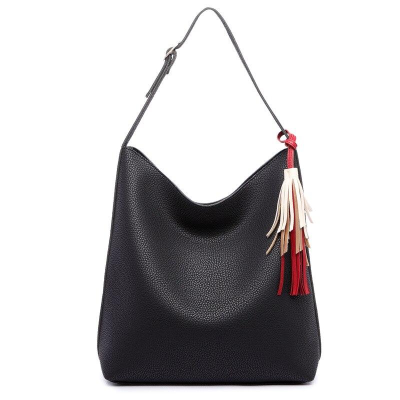 2017 New Fashion Hobos Women shoulder Bag Designer Handbags Woman Leather Bags Women Famous Brands Casual Tote sac<br><br>Aliexpress