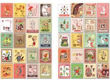 80 pcs/set DIY Cute Kawaii Cartoon Animal Girl Stamp Sticker Sticky Notes Scrapbook Paper Post It(China)