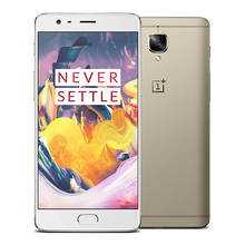 Original ONEPLUS 3T  global version 1920 x 1080P Android 6.0 OS a3003 Snapdragon 821 Smartphone 6GB RAM 64GB ROM 16.0MP