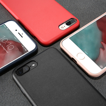 FLOVEME PU Leather Case For iPhone 6 6s 7 Plus Ultra Thin Cover 360 Degree Full Protection Case For iPhone 6 6s 7 Silicone Gel(China)