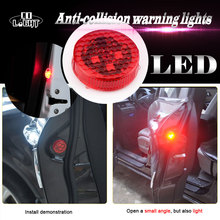 CO LIGHT Signal Light 2 Pairs Red Car Led Drl for Lada Niva Uaz Audi Bmw Buick Kia Honda 4X4 Off Road
