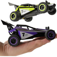 ET Remote Control RC Car High Speed Green Dune Buggy 1/32 Scale Drive Fast Drift and Do Cool Stunts child Kids Gift-Box 173201