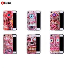 NetDot 2017 Fundas Fashion American Movie Phone Back For 6 Plus 7 Plus 8 Cover, The Walking Dead Case For Apple iPhone 7 6 capa
