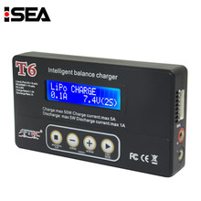 Hot Sale T6 Digital Multi-function Battery Balance Charger Discharger For LiPo Lion LiFe Pb NiCd And NiMH Battery Charging