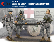 RealTS Trumpeter Model Kit - Modern US Army Stretcher Ambulance Team - 1:35 Scale 00430(China)