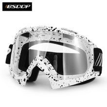 2017 Motorcycle Goggles Glasses Motocross Goggle Off Road Dirt Bike Protective Gear BSD0902(China)