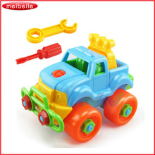 New Baby toys Car Toy Disassembly Assembly Classic Car Truck Brand Children Gifts Free shipping