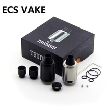 Newest Tsunami RDA Clone Adjustable Airflow Atomizer with Velocity-style Deck Tank Electronic Cigarette Atomizer