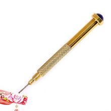 N011 Nail Art Manual Hand Dangle Drill Hole Maker Dotting Pen Uv Gel Acrylic Tip Manicure Piercing Tools pedicure Perforator