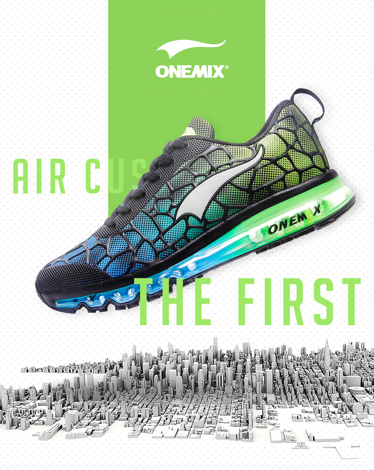 Onemix Men's Running Shoes Breathable Zapatillas Hombre Outdoor Sport Sneakers Lightweigh Walking Shoes Plus Size 39-47 Sneakers 5
