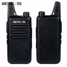 2pcs Dustproof Retevis RT22 Walkie Talkie Transceiver 2W 16CH UHF400-480MHz CTCSS/DCS VOX Scan Squelch Portable Amateur Radio RU(China)