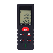 Buy 60m/197ft Mini Digital Laser Meter Handheld Distance Meter High Precision Range Finder Area Volume Measurement Level Bubble for $20.99 in AliExpress store