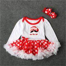 2017 Girls Dress Floral Princess Dress Baby Girls Christmas Party Dresses Childrens Costume Newborn baby Birthday Party Clothing